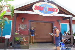 We all meet in from of Skipjack's restaurant.