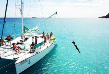 catamaran excursion in st maarten