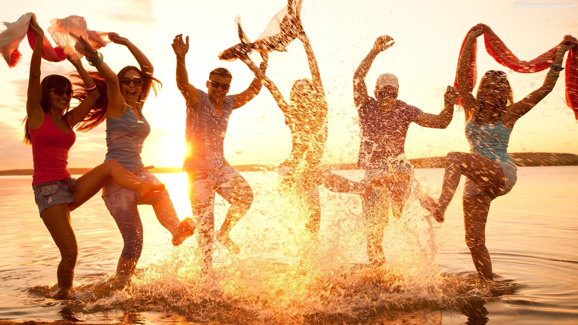 Friends Party Dance In Beach Images St Maarten Map