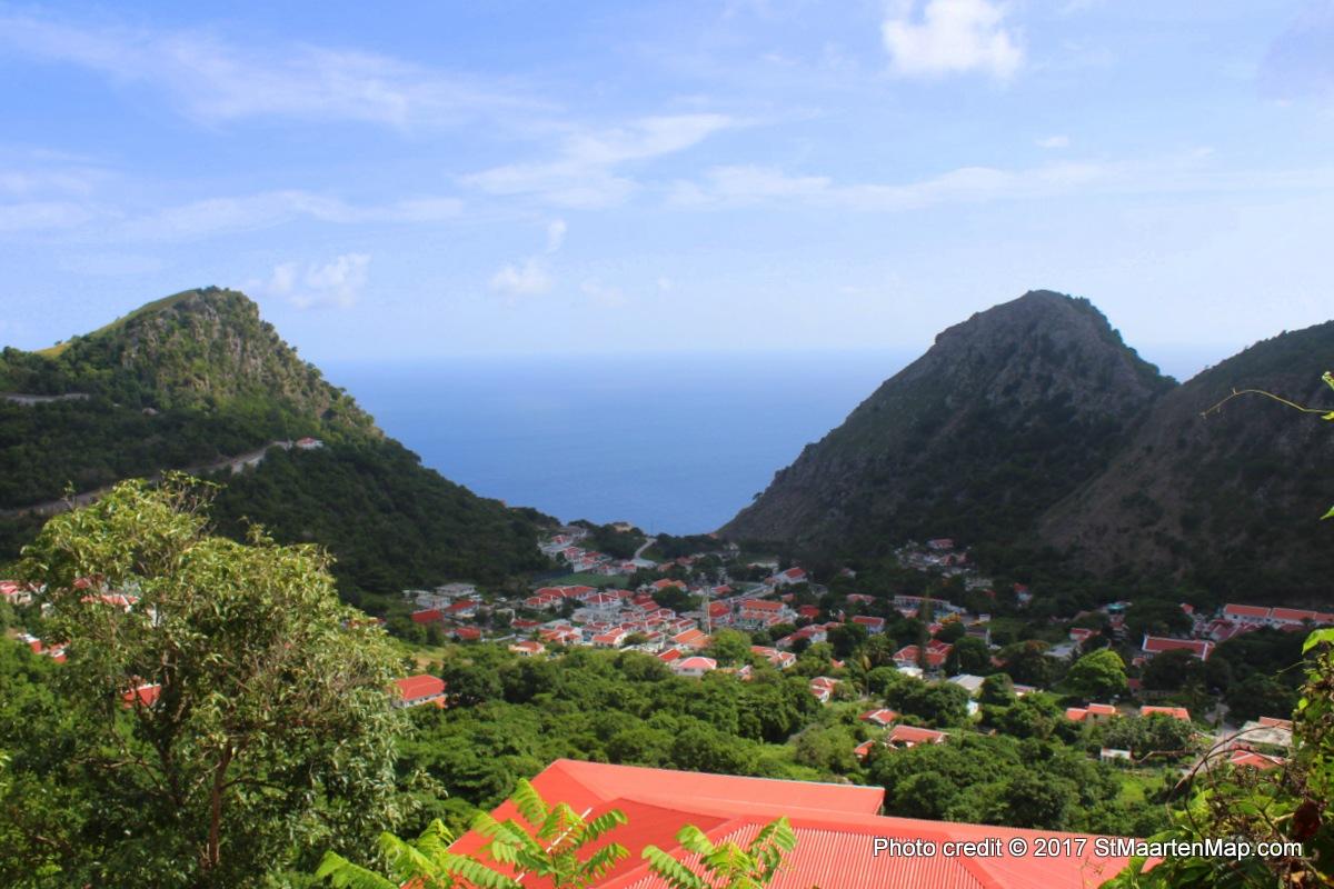View Saba St Maarten Map